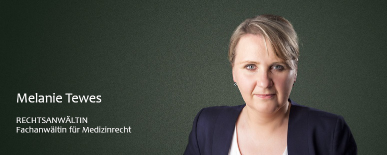 Portraitfoto von Frau Rechtsanwältin Tewes